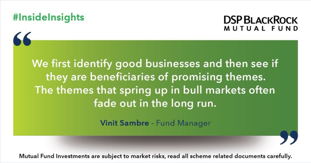 Vinit Sambre DSP Small Cap Fund