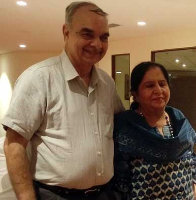 The illustrious Dolly Khanna and Rajiv Khanna