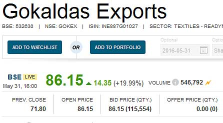 Gokaldas-Exports