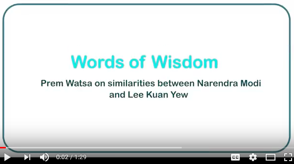 IIFL Wealth Prem Watsa similarities between Narendra Modi and Lee Kuan Yew