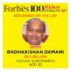 Radhakishan Damani Portfolio