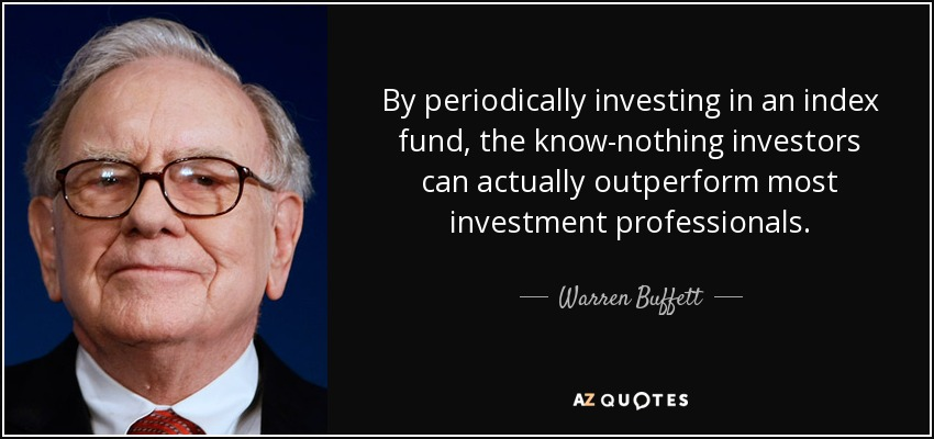 Warren Buffett Index Funds
