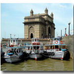 Motor Launches at Gateway of India