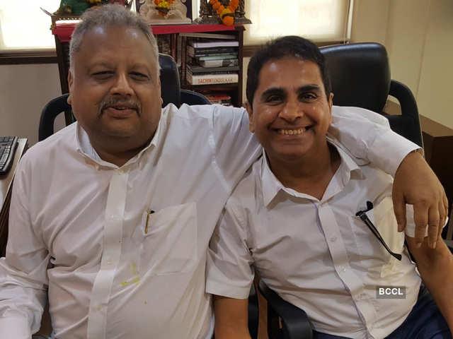 Vijay Kedia with Rakesh Jhunjhunwala